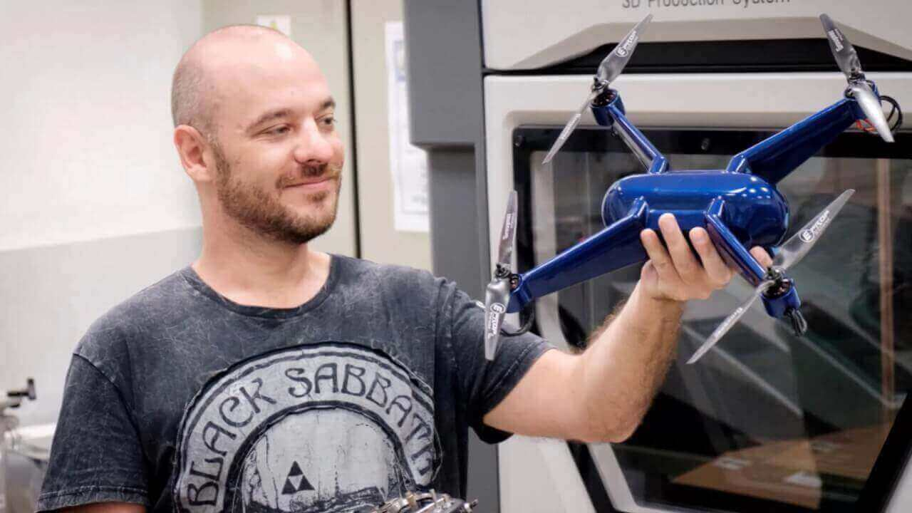 3D Printed Quadcopter Can Withstand Extreme Temperatures | All3DP
