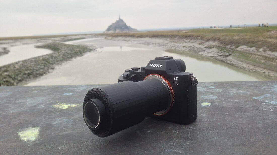 Photographer takes Beautiful Pictures with 3D Printed Lens | All3DP