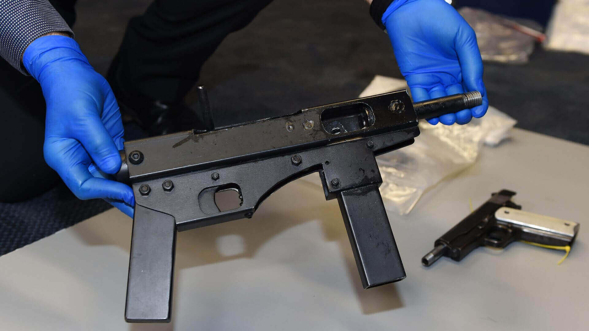3D Printed Submachine Guns Found in Drug Raids in Australia | All3DP