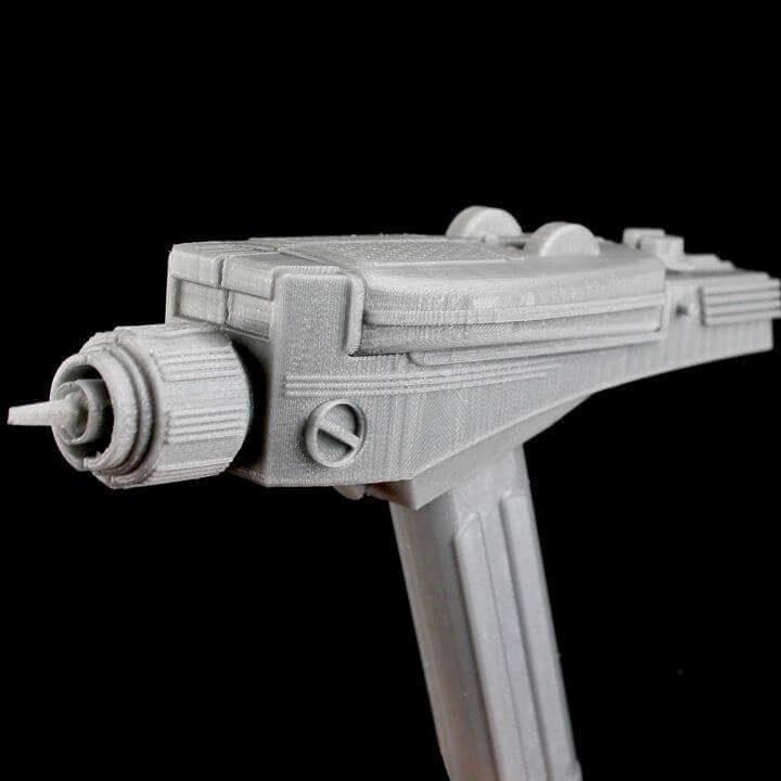 image of star trek 3d models to 3d print classic phaser