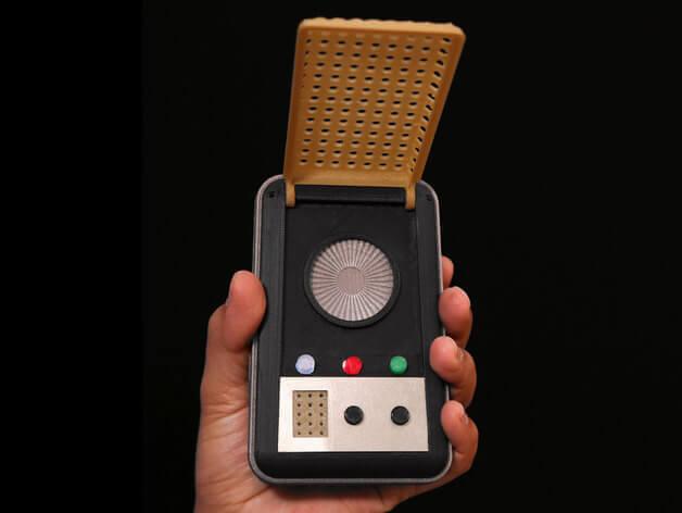 image of star trek 3d models to 3d print communicator
