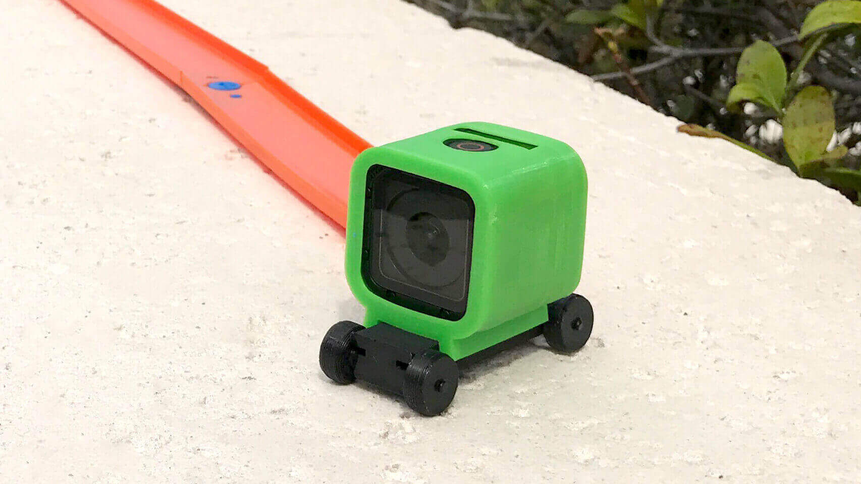 3D Printed Hot Wheels GoPro Mount for Thrills and Spills | All3DP
