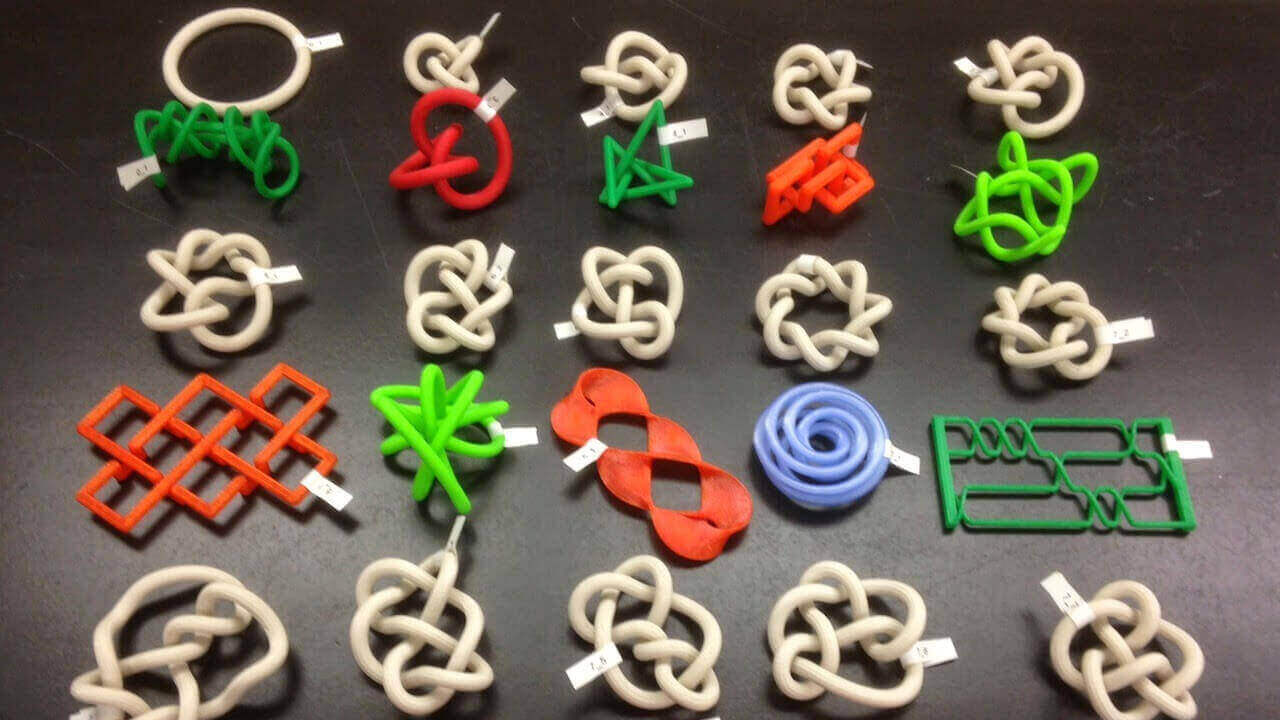 UnKnot Conference: Exploring Math Theory with 3D Printing | All3DP