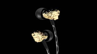 Featured image of 3D Printed Metal Lion Head on V-Moda's New Earbuds