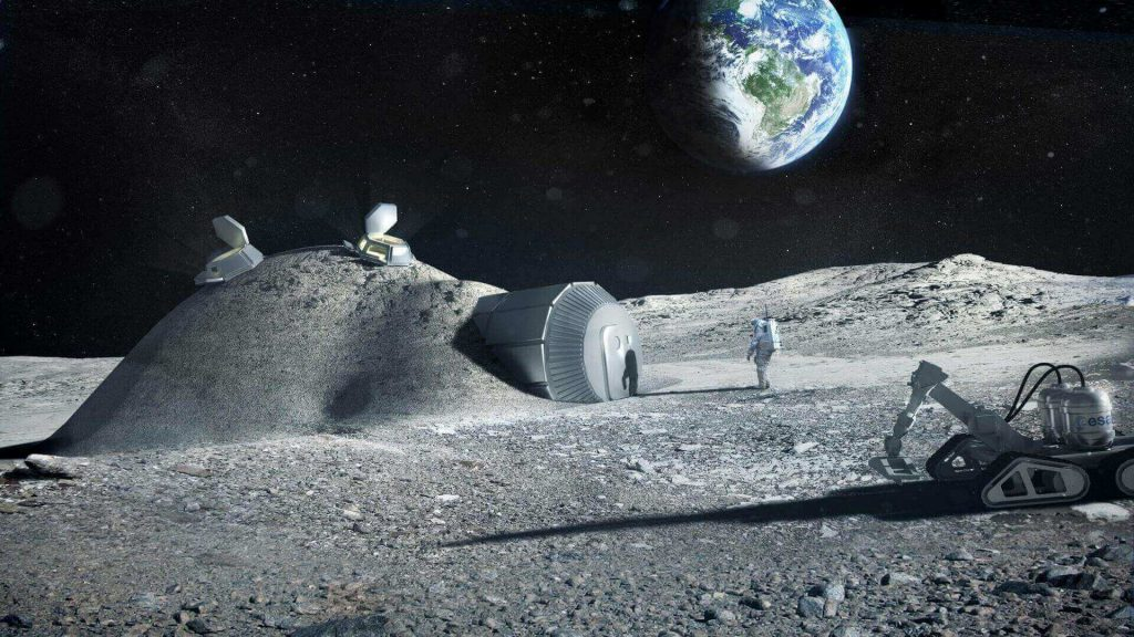 101 questions answered lunar base made with 3d printing