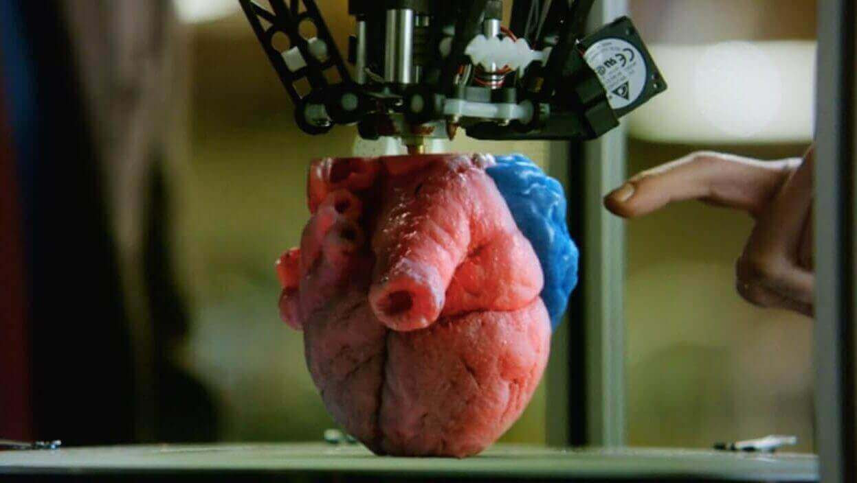 3D Printed Hearts on Pure Genius TV Show Reflect Reality | All3DP