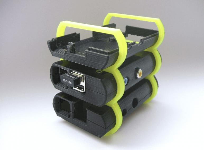 Image of Proyectos Raspberry Pi que puedes imprimir en 3D: Torre de servidores