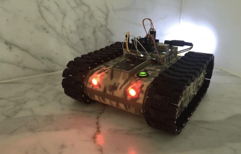 Image of Proyectos Raspberry Pi que puedes imprimir en 3D: Tanque robot