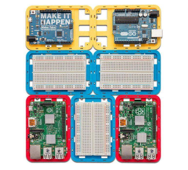 Image of Proyectos Raspberry Pi que puedes imprimir en 3D: Soporte de desarrollador