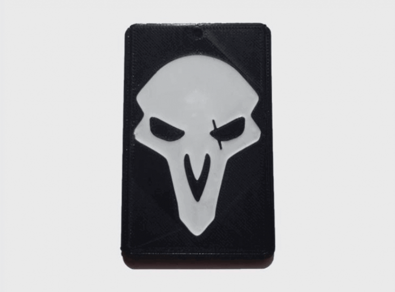 Image of Overwatch 3D Models: Reaper Card Holder