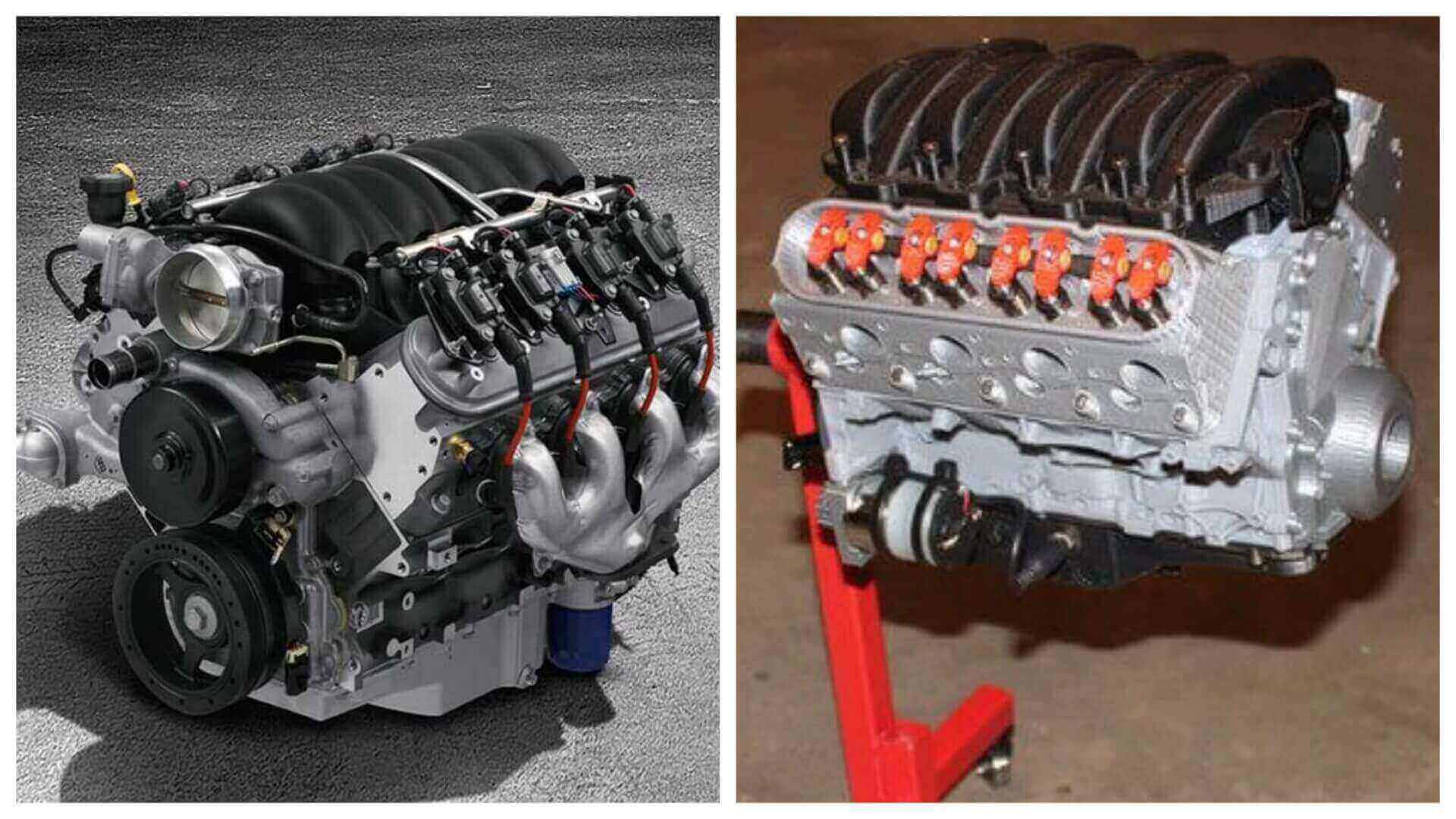 This 3D Printed Chevrolet Camaro Engine is Fully Functional | All3DP