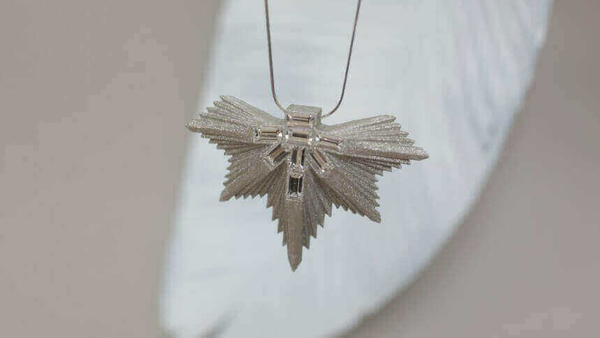 Vanina Leaves Jewelry is Made From 3D Printed Paper | All3DP
