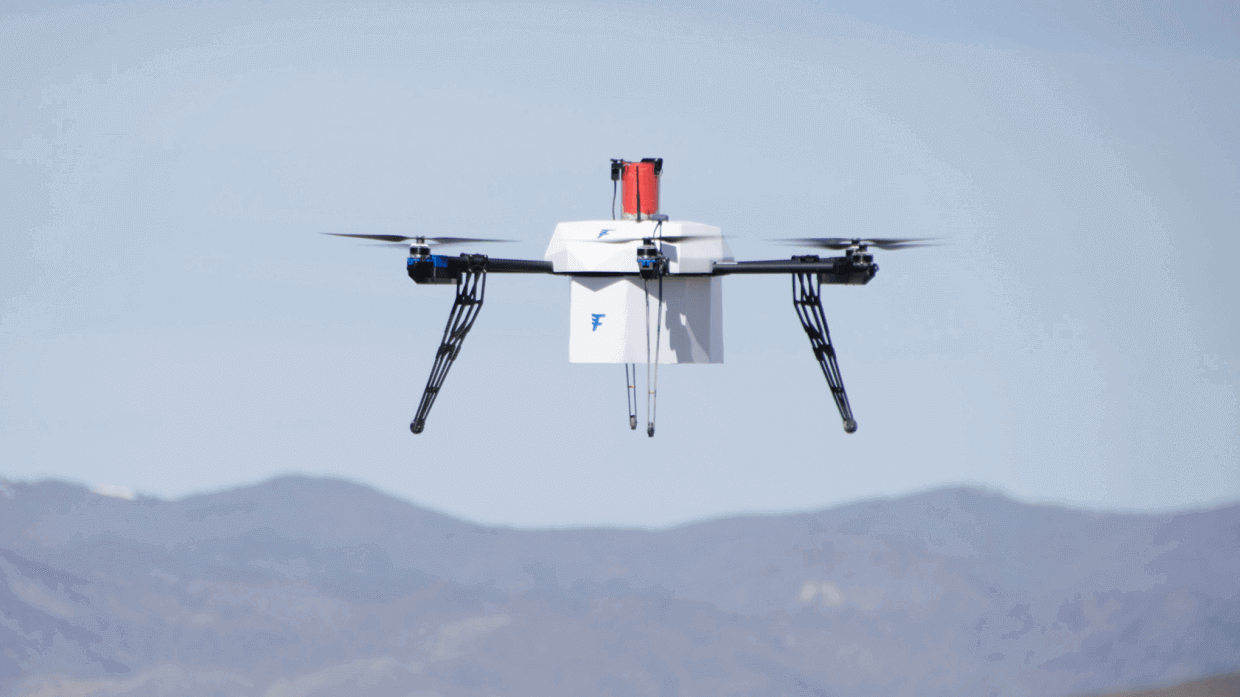 3D Printed Flirtey Drone Completes 77 Deliveries Across the US | All3DP