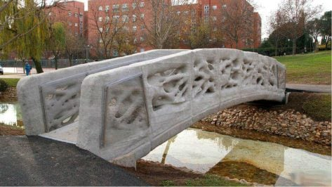 Featured image of World's First 3D Printed Pedestrian Bridge Completed in Madrid