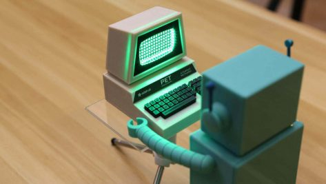 Featured image of 3D Print a Mini Commodore PET with A Working LED Screen