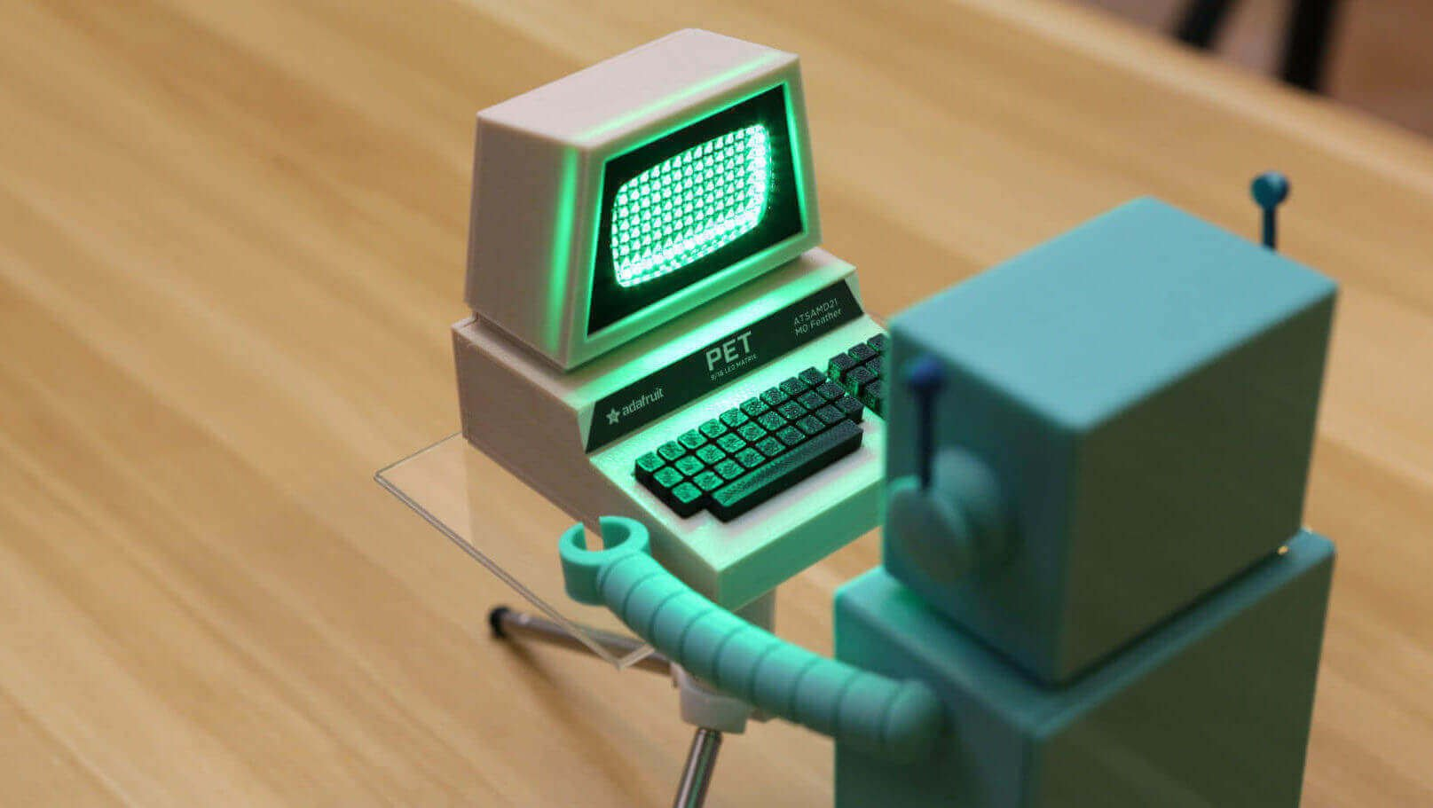 3D Print a Mini Commodore PET with A Working LED Screen | All3DP