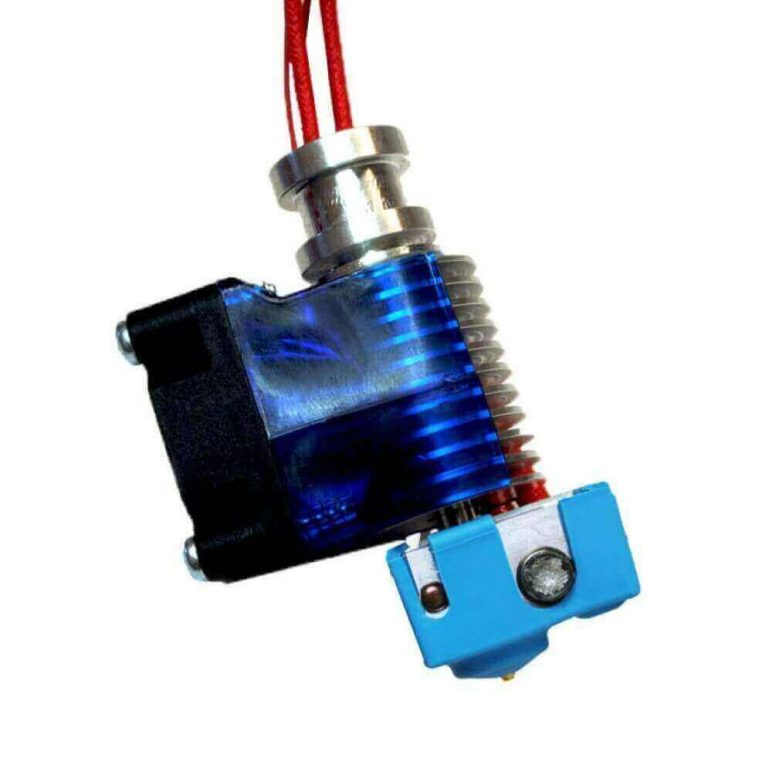 Image of Best-selling 3D Printer Extruder at Amazon: E3D All-metal v6 Hotend Full Kit