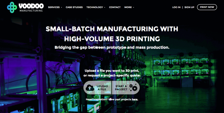 Image of Online 3D Printing Service: Voodoo Manufacturing