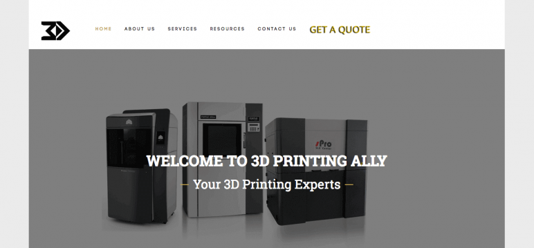 Image of Online 3D Printing Service: 3D Printing Ally