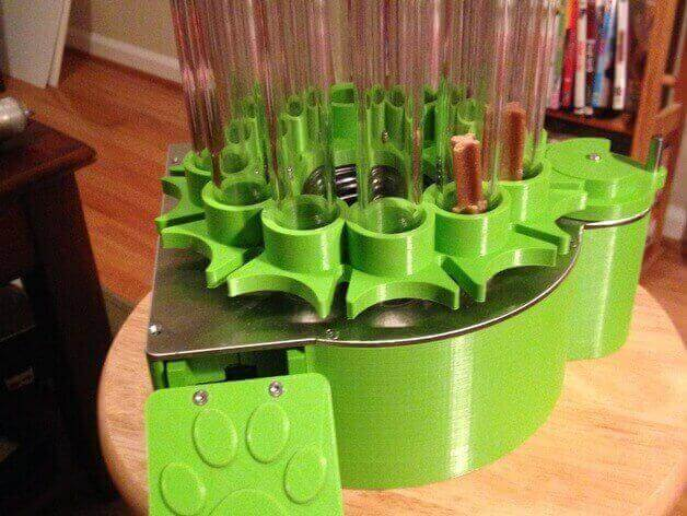 Image of 30 Great Arduino Projects (You Can Make with a 3D Printer): Automated Dog Treat Feeder