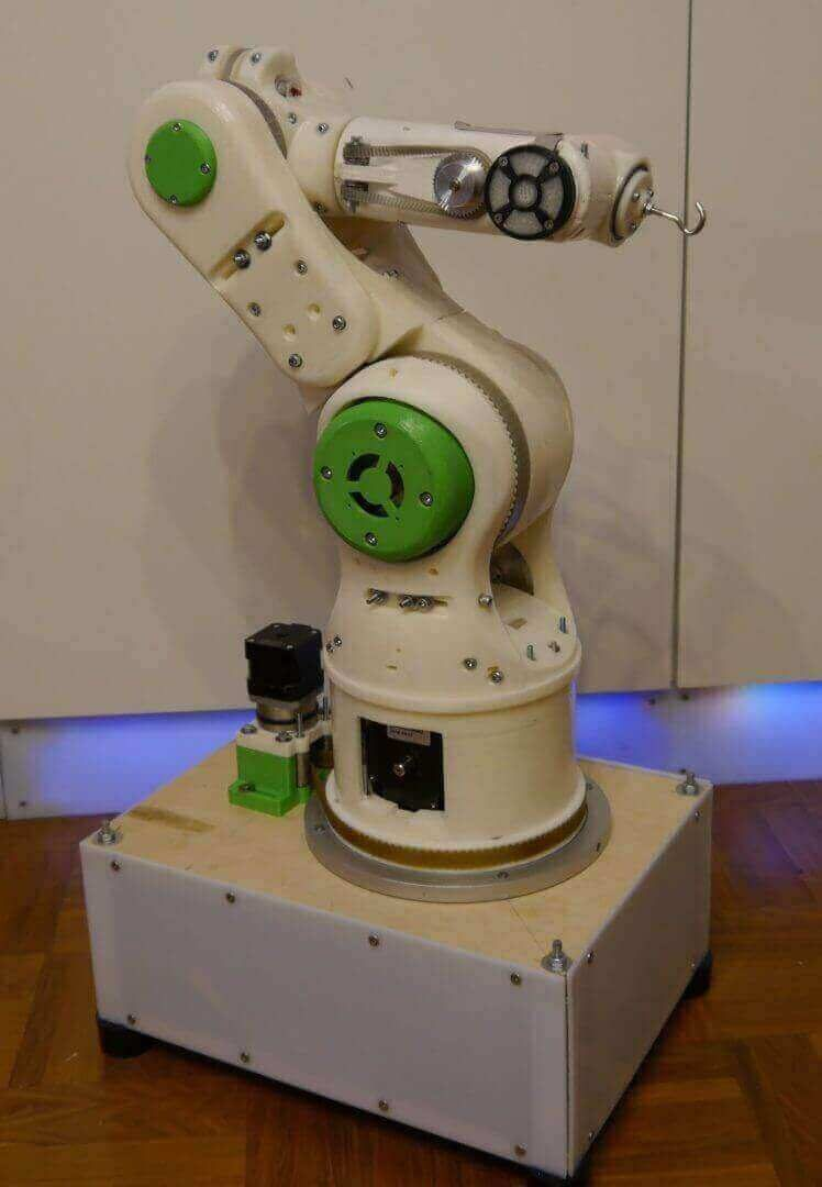 Image of 30 Great Arduino Projects (You Can Make with a 3D Printer): 3D Printable Robot Arm