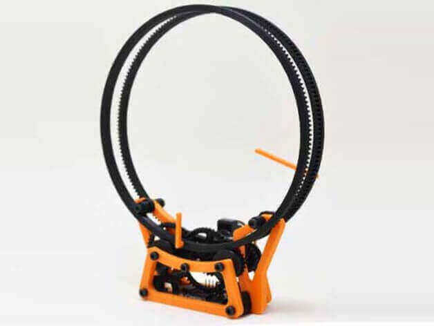 Image of 30 Great Arduino Projects (You Can Make with a 3D Printer): Holo Clock