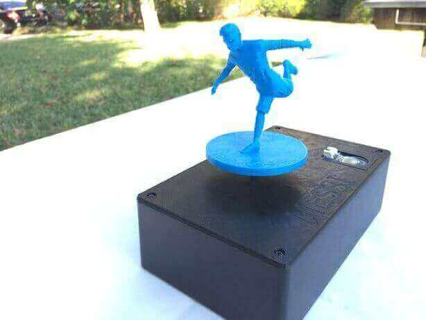 Image of 30 Great Arduino Projects (You Can Make with a 3D Printer): Messi Music Box