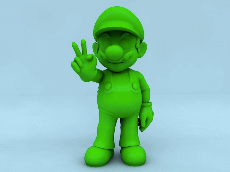 picture relating to 3d Printable Figures named 10 Perfect Tremendous Mario Statistics Toys in the direction of 3D Print All3DP