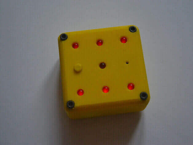 Image of 30 Great Arduino Projects (You Can Make with a 3D Printer): Nerdy Electronic Dice