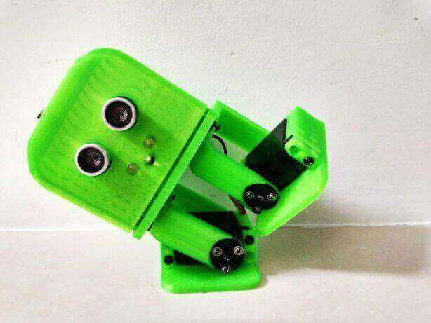 Image of 30 Great Arduino Projects (You Can Make with a 3D Printer): Tito - Arduino UNO 3D Printed Robot