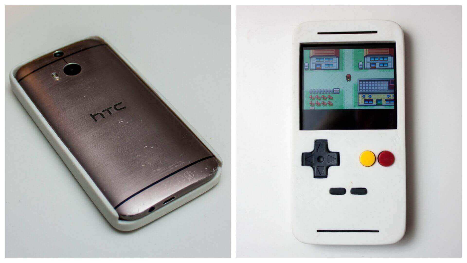 3D Printed EmuCase: Smartphone Turned Into a Game Boy Classic | All3DP