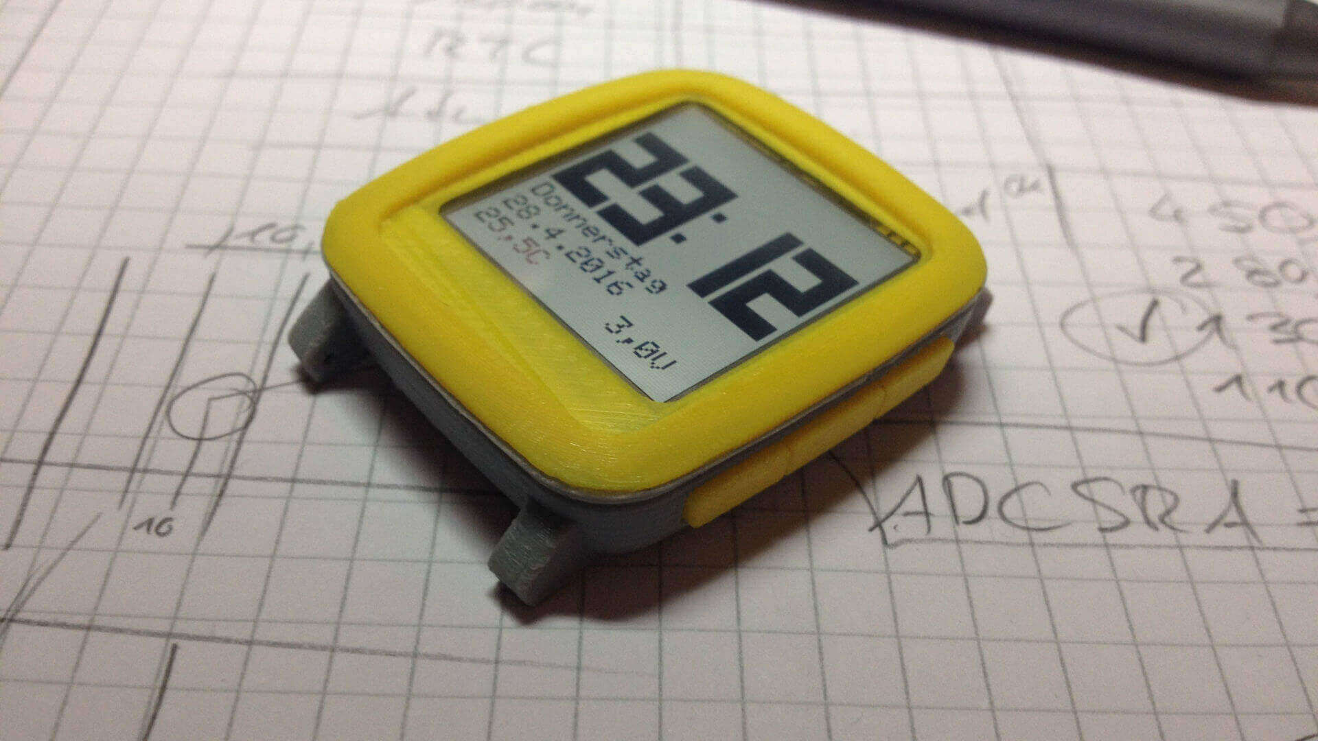Chronio is an Arduino Smartwatch With 3D Printed Case | All3DP