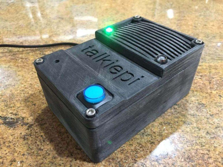 Image of Proyectos Raspberry Pi que puedes imprimir en 3D: Walkie Talkie