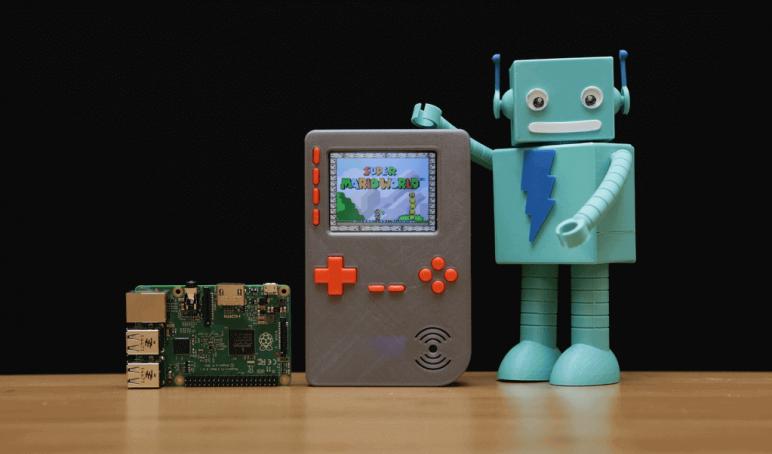 Image of Proyectos Raspberry Pi que puedes imprimir en 3D: Game Boy