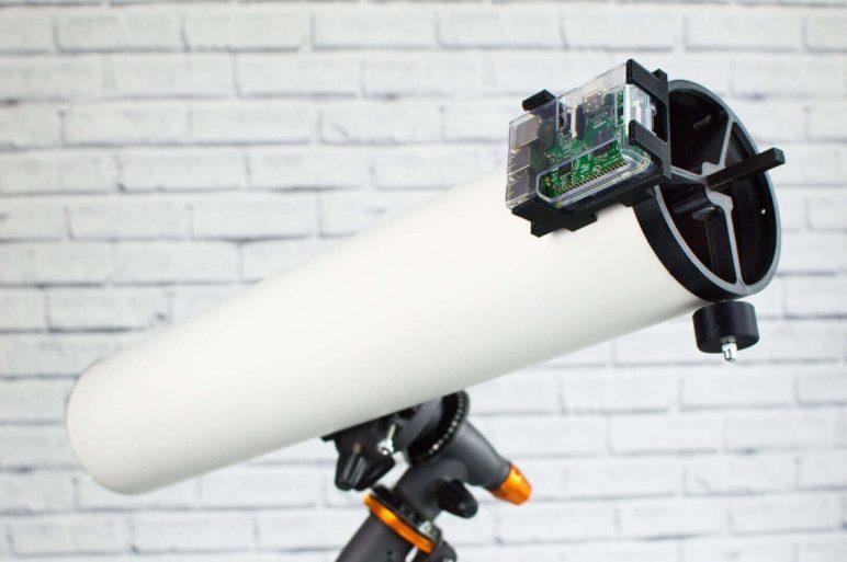 Image of Proyectos Raspberry Pi que puedes imprimir en 3D: Telescopio