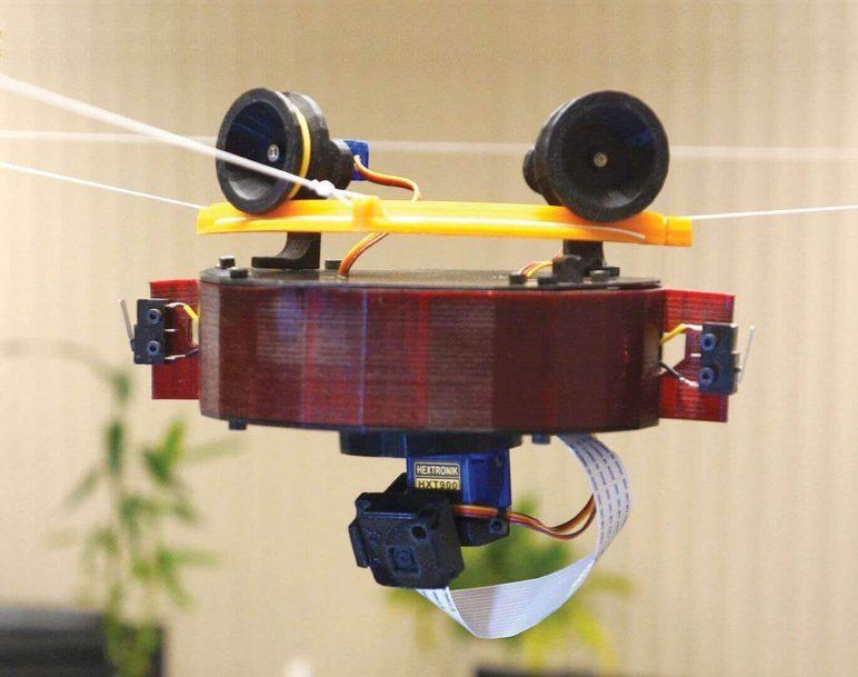 Image of Proyectos Raspberry Pi que puedes imprimir en 3D: Skycam