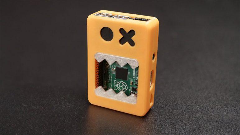 Image of Boîtier RaspberryPi3 à imprimer en 3D – Les 30 meilleurs modèles: Boîtier visage