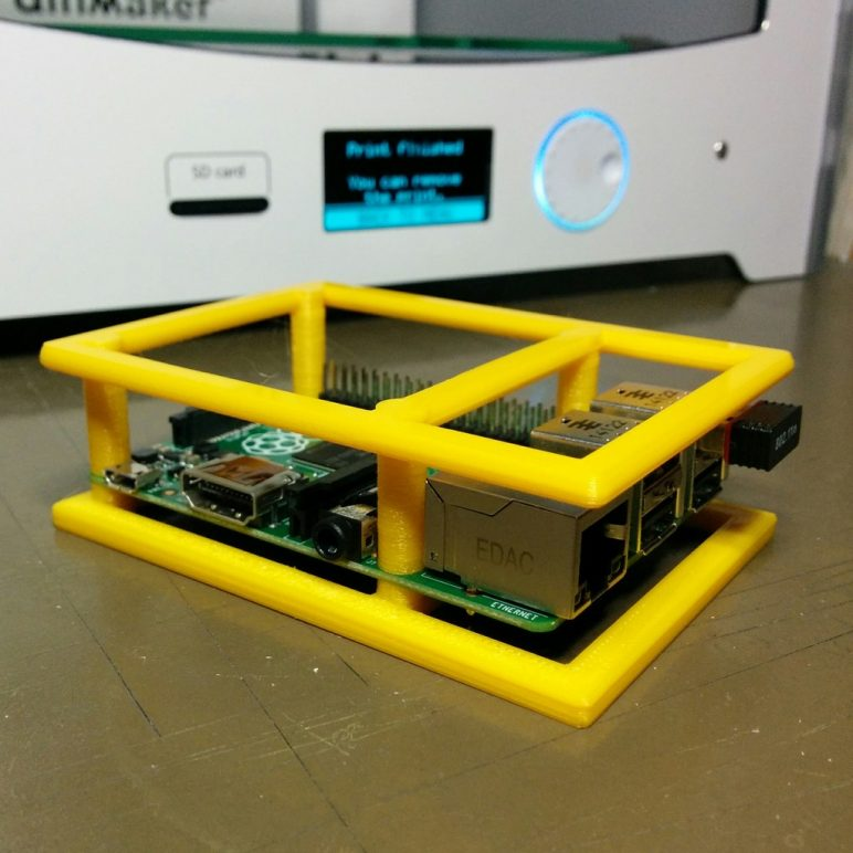 Image of Boîtier RaspberryPi3 à imprimer en 3D – Les 30 meilleurs modèles: Pare-chocs