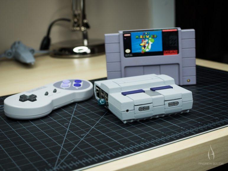 Image of Boîtier RaspberryPi3 à imprimer en 3D – Les 30 meilleurs modèles: Mini Super NES