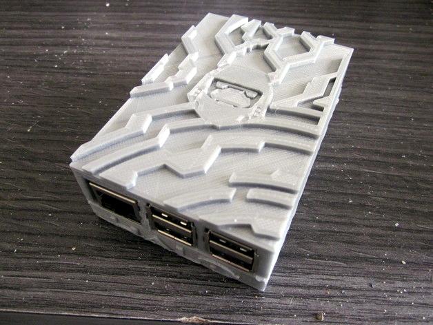 Image of Boîtier RaspberryPi3 à imprimer en 3D – Les 30 meilleurs modèles: Boîtier Halo