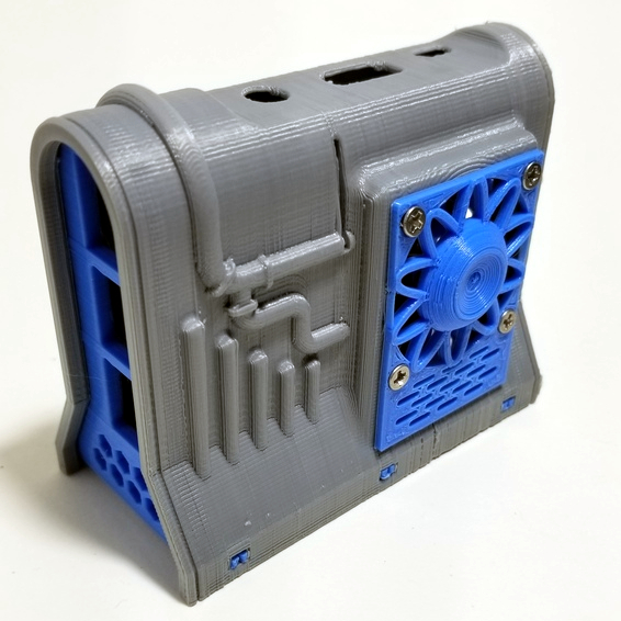 Image of Boîtier RaspberryPi3 à imprimer en 3D – Les 30 meilleurs modèles: ePIc R2 Pi2