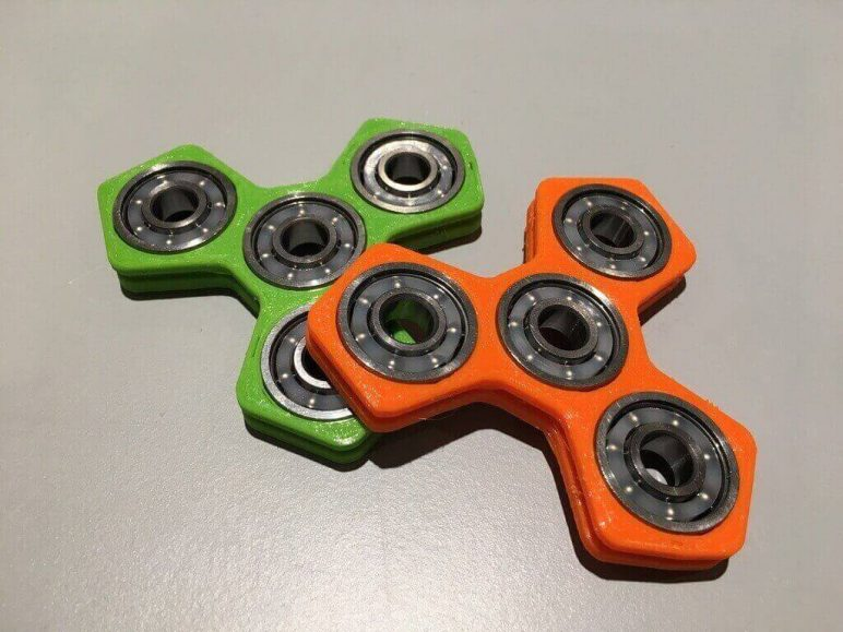 Image of Best 3D Printed Fidget Spinners: Hand Spinner