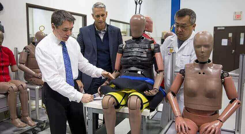 Old and Fat Crash-Test Dummies to Better Represent Humans | All3DP