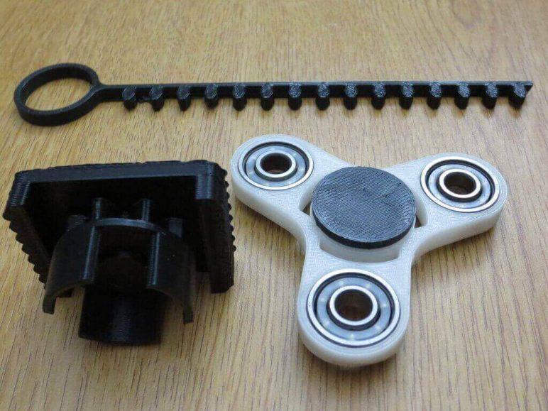 Image of Best 3D Printed Fidget Spinners: Bayblade Fidget Toy