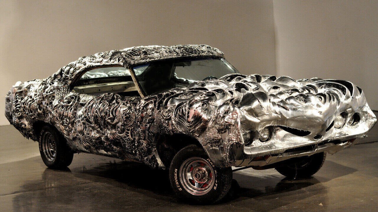 3D Printed Liquid Metal Ford Torino Steals the Spotlight at Arizona Auction | All3DP
