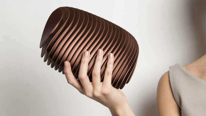 Modern 3D Printed Clutch Inspired By the City of Bern | All3DP