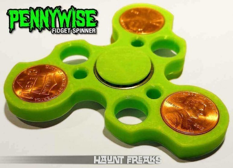Image of Best 3D Printed Fidget Spinners: Pennywise Hand Spinner
