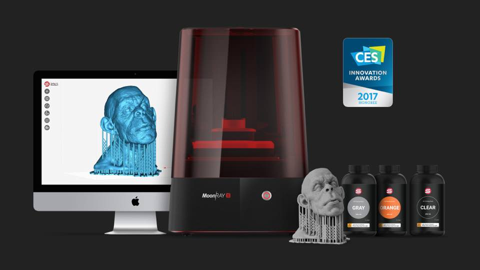 New MoonRay S DLP 3D Printer Set to Eclipse Rivals | All3DP