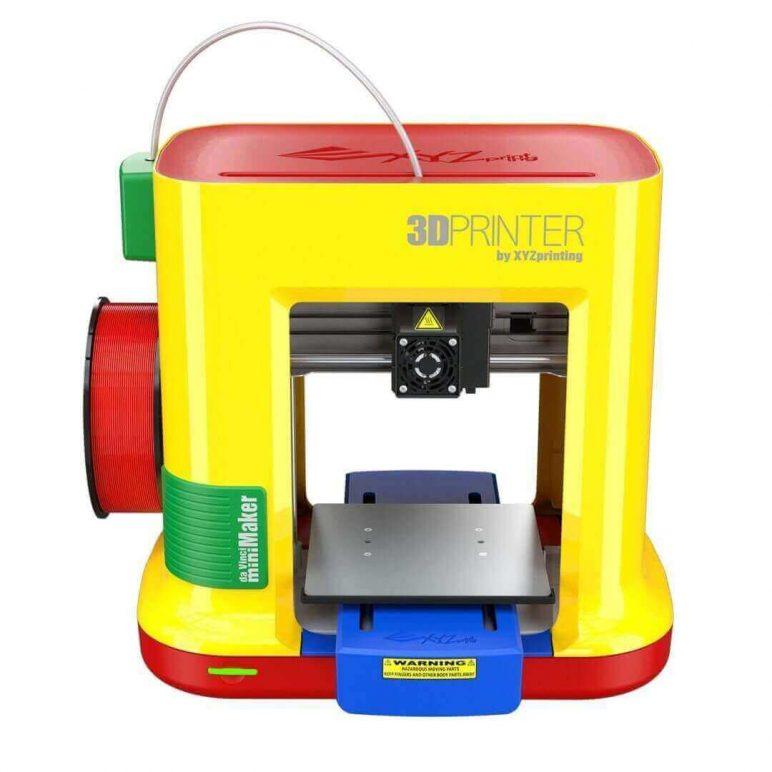 Image of Best Selling 3D Printer on Amazon: XYZprinting da Vinci miniMaker