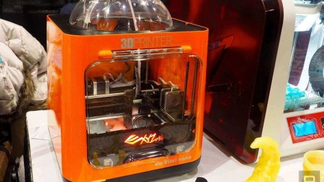 "Featured image of XYZprinting Adds the $230 ""da Vinci Nano"" 3D Printer to its Portfolio"
